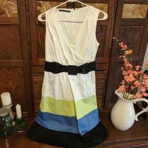 Maurices Colorblock Dress Size 3 / 4